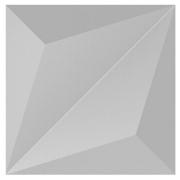 Forma De Gesso 3D em ABS - ABS0096-2MM 33,5x33,5cm