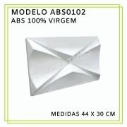 Forma De Gesso 3D em ABS - ABS0102-2MM  30x44cm