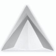 Forma De Gesso 3D em ABS - ABS0112-2MM  39x39cm