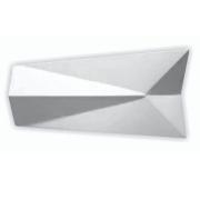 Forma De Gesso 3D em ABS - ABS0114-2MM 39,5x20cm