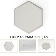 Forma De Gesso 3D em ABS - ABS0132-2MM 17,5x14,5