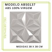 Forma De Gesso 3D em ABS - ABS0137-2MM 38x38cm