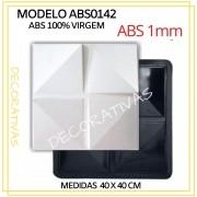 Forma De Gesso 3D em ABS - ABS0142-1MM 40x40cm