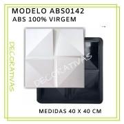 Forma De Gesso 3D em ABS - ABS0142-2MM 40x40cm