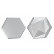 Forma De Gesso 3D em ABS - ABS0143-2MM 25x21cm