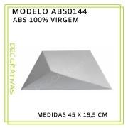 Forma De Gesso 3D em ABS - ABS0144-2MM 45x19,5cm