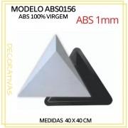 Forma De Gesso 3D em ABS - ABS0156-1MM 40x40cm