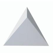 Forma De Gesso 3D em ABS - ABS0156-2MM 40x40cm