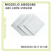 Forma De Gesso 3D em ABS - ABS0180-2MM 50x32cm