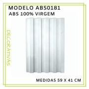 Forma De Gesso 3D em ABS - ABS0181-2MM 59x41cm