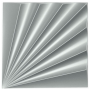 Forma De Gesso 3D em ABS - ABS0184-2MM 50x50cm