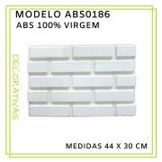Forma De Gesso 3D em ABS - ABS0186-2MM 44x30cm