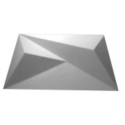 Forma De Gesso 3D em ABS - ABS0196-2MM 48x24cm