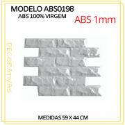 Forma De Gesso 3D em ABS - ABS0198-1MM 59x44cm