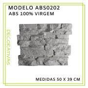Forma De Gesso 3D em ABS - ABS0202-2MM 50x39cm