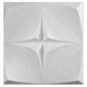 Forma De Gesso 3D em ABS - ABS0204-2MM 40x40cm