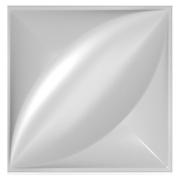 Forma De Gesso 3D em PET - PET0019-1.8MM 29x29cm