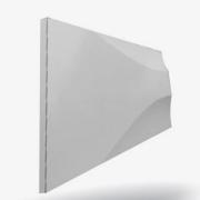 Forma De Gesso 3D em PET - PET0087 -1.8MM 29x21,5cm