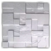 Forma De Gesso 3D em PET- PET0116-1.8MM 38,5x38,5cm