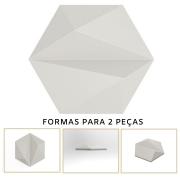 Forma De Gesso 3D em PET - PET0130-1.8MM 17,5x14,5