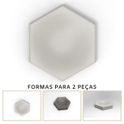Forma De Gesso 3D em PET - PET0131-1.8MM 17,5x14,5