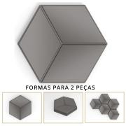 Forma De Gesso 3D em PET - PET0133-1.8MM 17,5x14,5cm