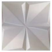 Forma De Gesso 3D em PET - PET0151-1.8MM 49x49cm