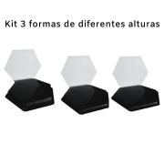 Forma De Gesso 3D em PET - PET0165-1.8MM 20x23cm