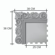 Forma para moldura de espelho em ABS - ME0601
