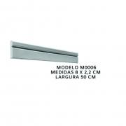 Forma para moldura de rodateto - MO0006- 1MM  8x2,2cm