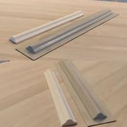 Forma para moldura de rodateto - MO0012- 2MM 4x50x1,7cm