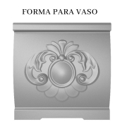 Forma Para Vasos em ABS - VA0706