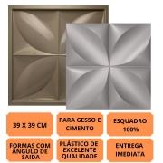 Formas Pra Gesso 3d E Cimento Pol0106