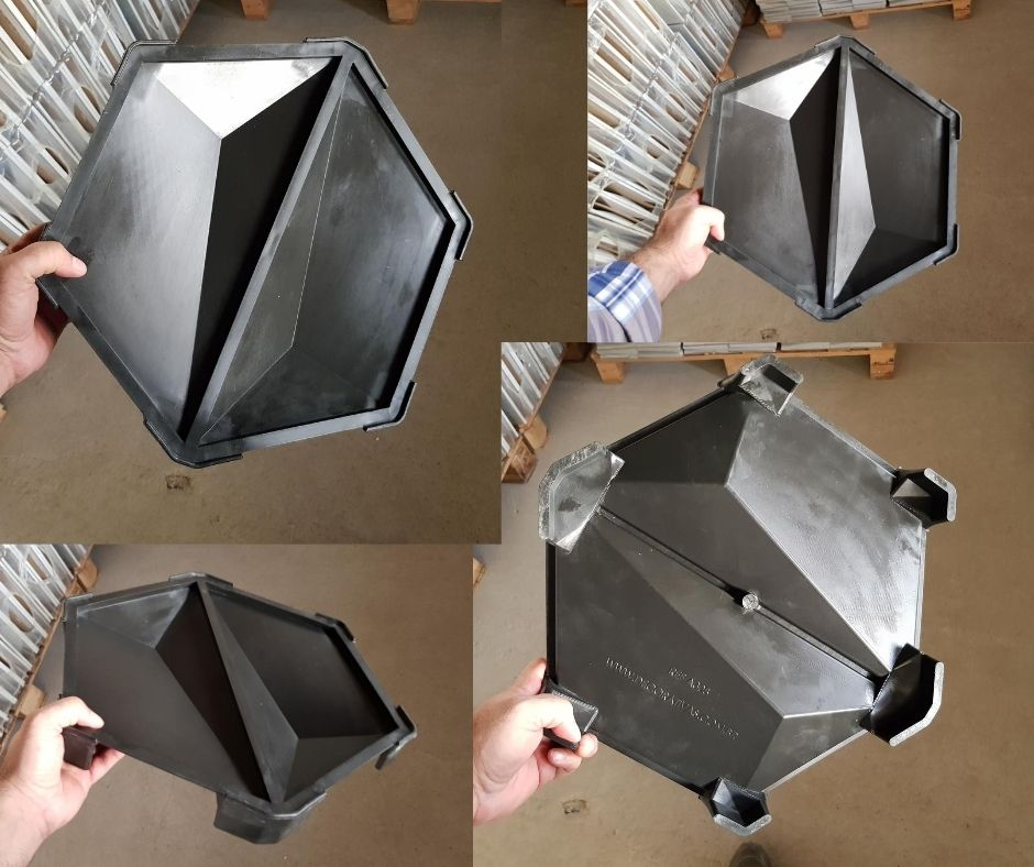 Forma em plástico injetado A0308