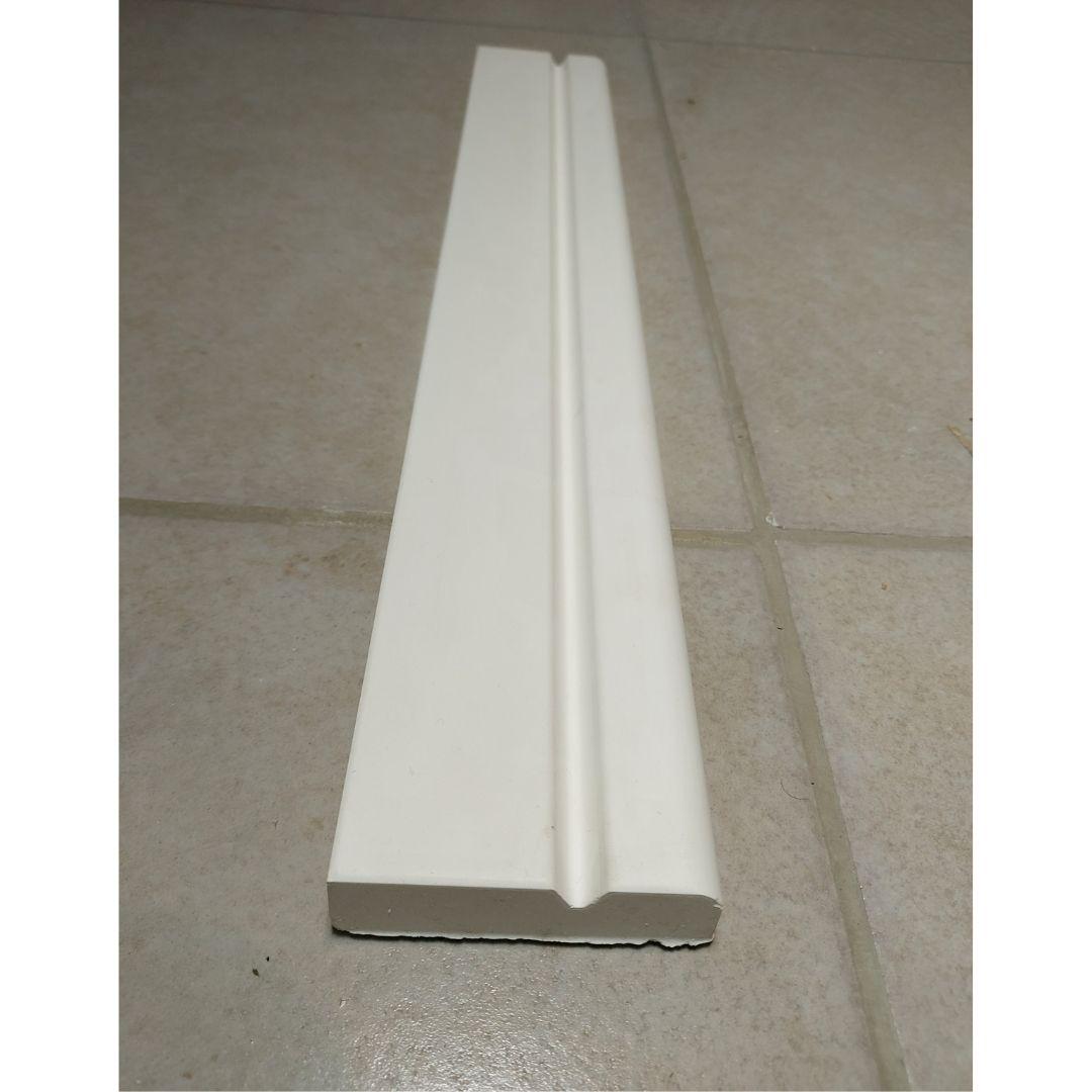Forma para moldura de rodateto - MO0006- 2MM 8x2,2cm