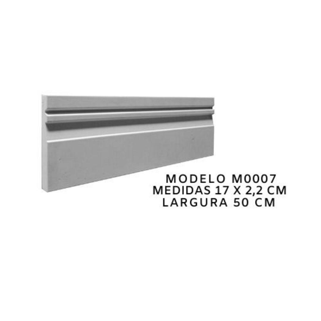 Forma para moldura de rodateto - MO0007- 2MM 17X2,2CM