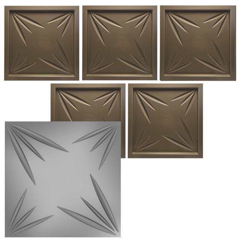 KIT 5 Formas De Gesso 3D em PET - PET0005 - 1.8MM