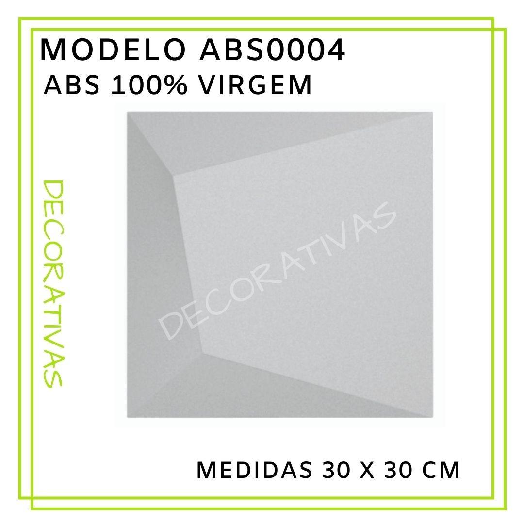 Forma De Gesso 3D em ABS - ABS0004-2MM 30x30cm