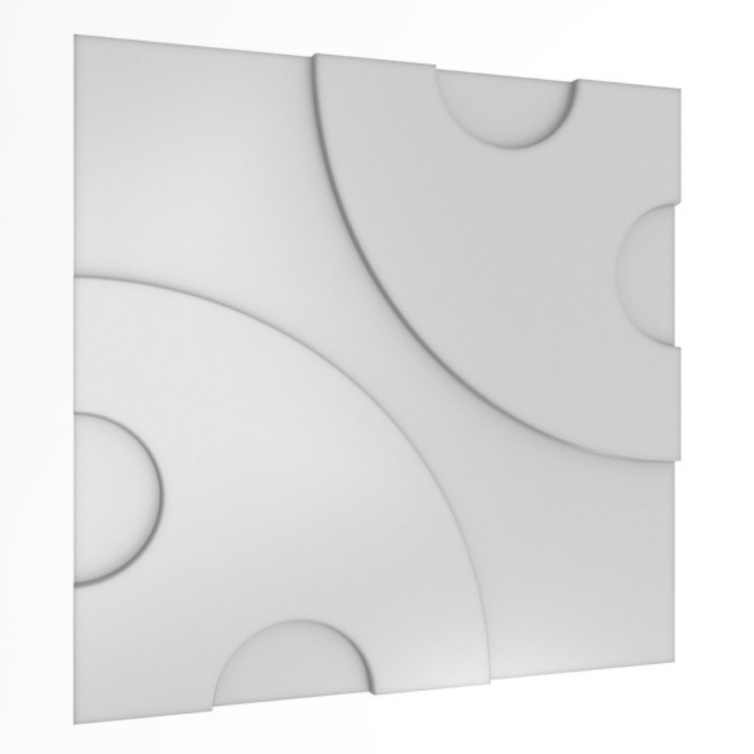 Forma De Gesso 3D em ABS - ABS0010-2MM 30x30cm