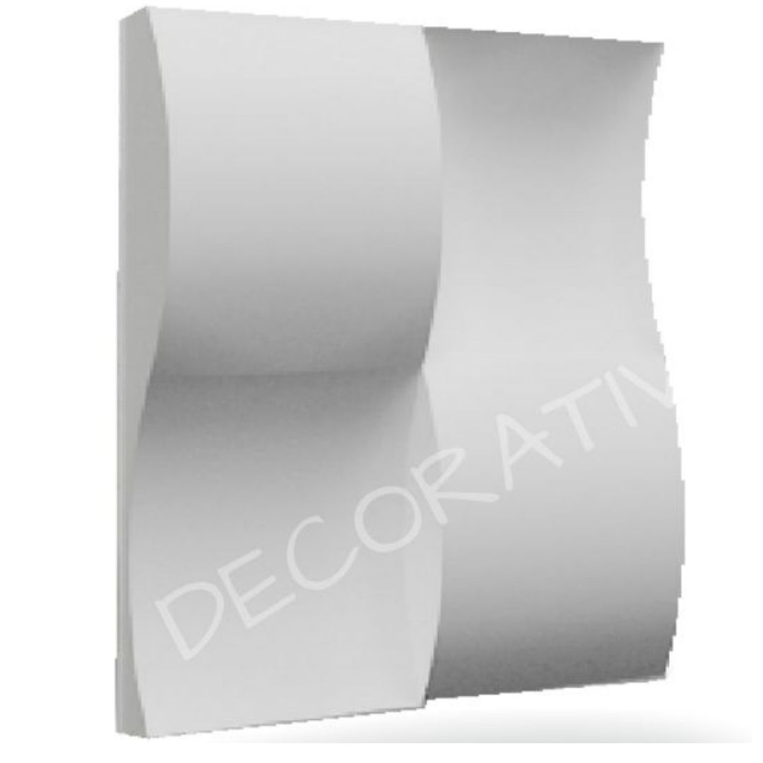 Forma De Gesso 3D em ABS - ABS0016-2MM  29x29cm