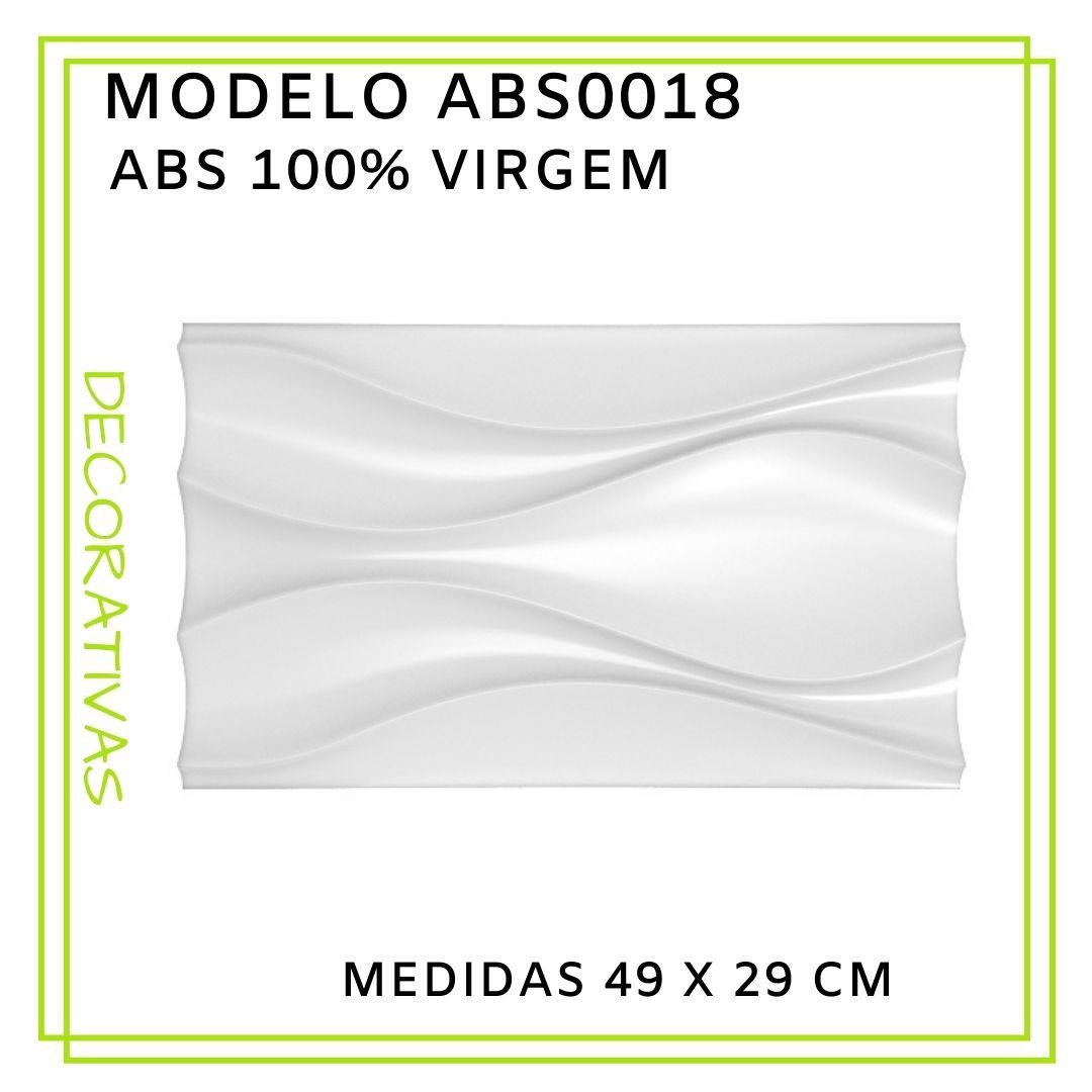 Forma De Gesso 3D em ABS - ABS0018-2MM 49x29cm