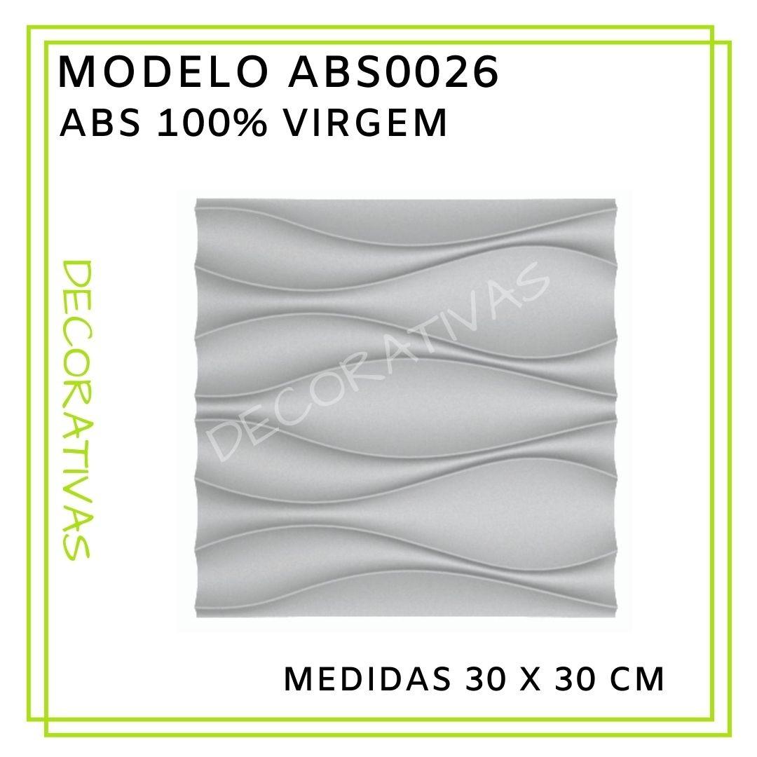 Forma De Gesso 3D em ABS - ABS0026-2MM 29x29cm