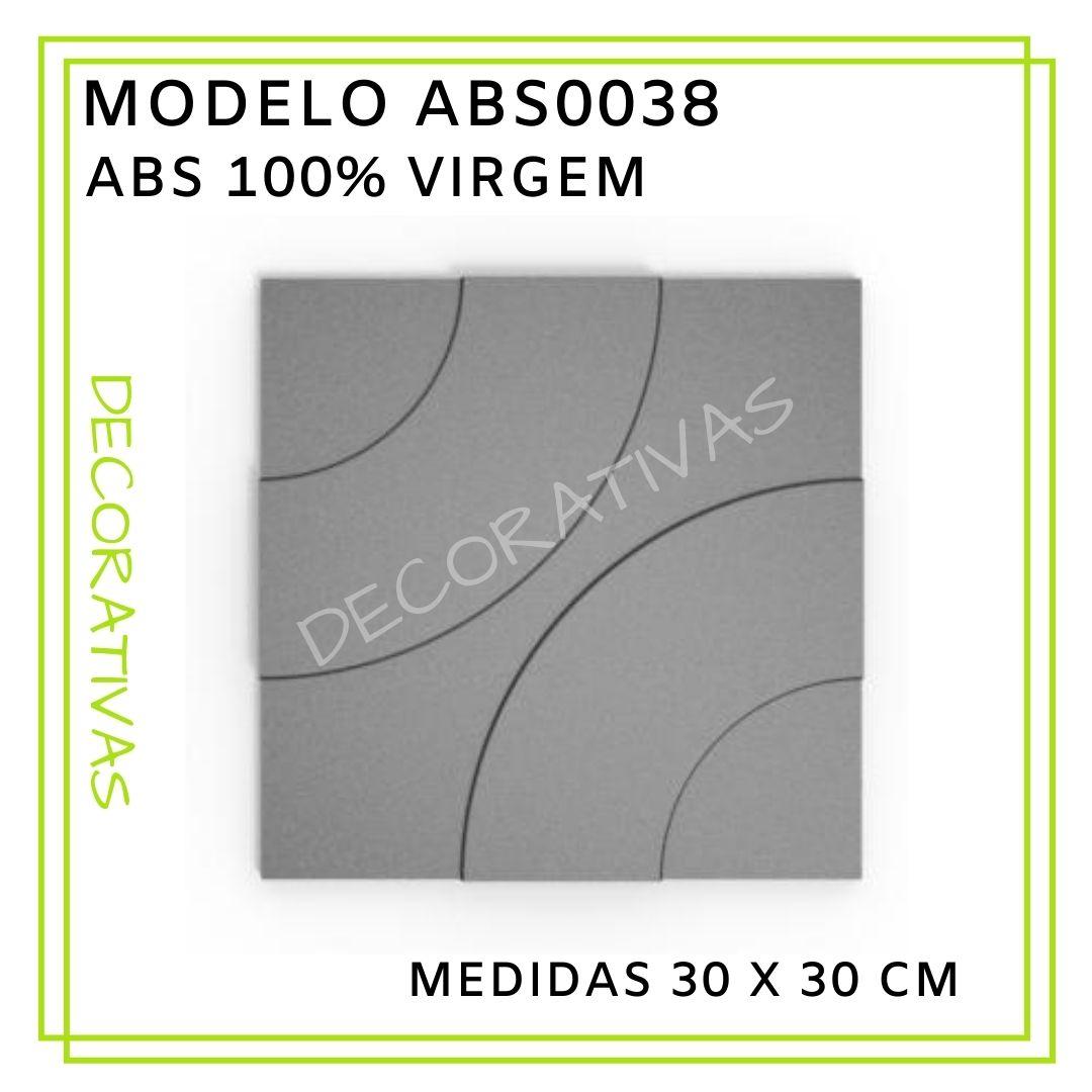 Forma De Gesso 3D em ABS - ABS0038-2MM 29x29cm