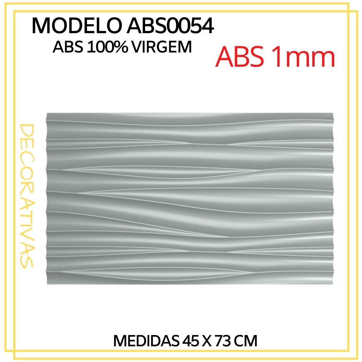 Forma De Gesso 3D em ABS - ABS0054-1MM 45x73cm