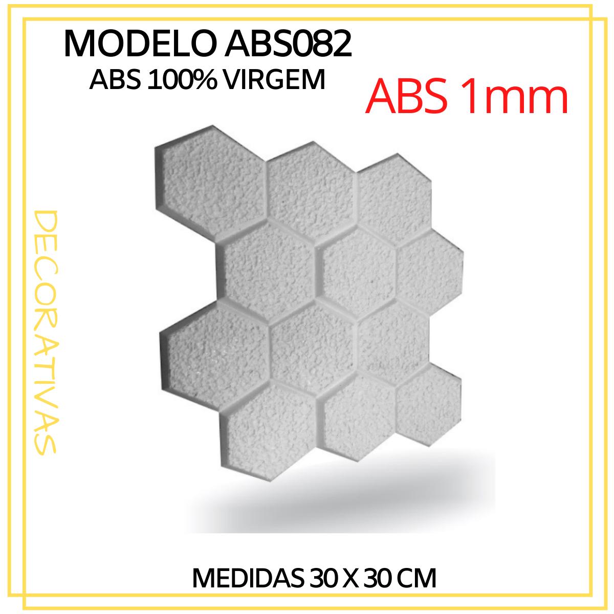 Forma De Gesso 3D em ABS - ABS0082-1MM 29x29cm