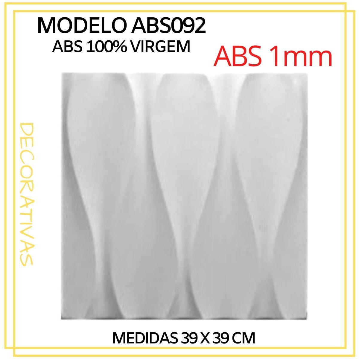 Forma De Gesso 3D em ABS - ABS0092-1MM 39x39cm