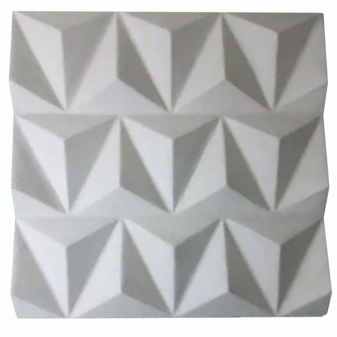 Forma De Gesso 3D em ABS - ABS0093-2MM  39,5x39,5cm