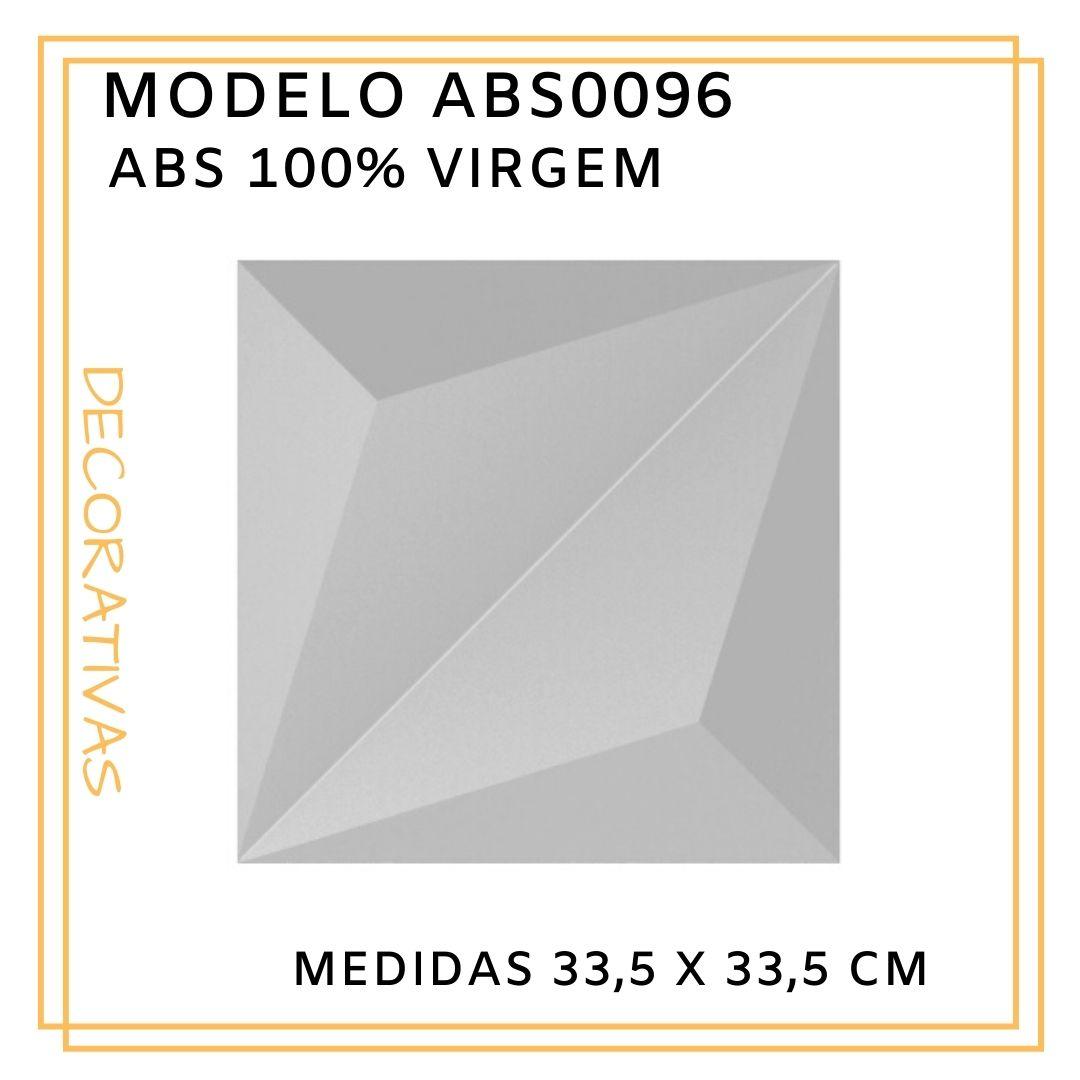 Forma De Gesso 3D em ABS - ABS0096-1MM 33,5x33,5cm