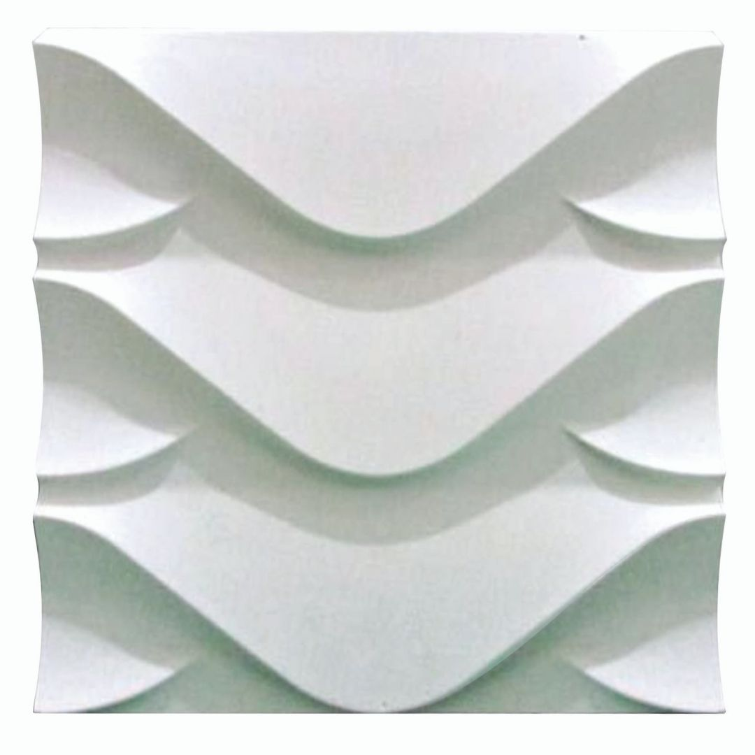 Forma De Gesso 3D em ABS - ABS0103-2MM 38,5x38,5cm
