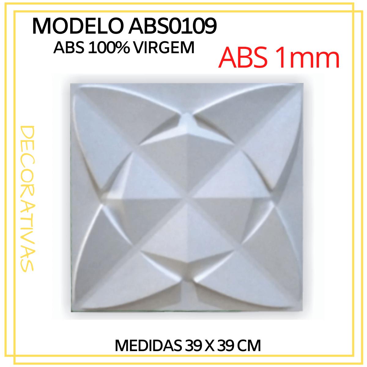 Forma De Gesso 3D em ABS - ABS0109-1MM 39x39cm